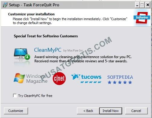 Memaksa Program untuk Menutup dan Me-restart dengan Task ForceQuit Pro