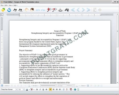 Mengedit File Berformat Apapun dengan Free Editor