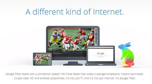 Google Fiber Merilis Internet dengan Kecepatan 1Gbps dengan Harga yang Sangat Murah!