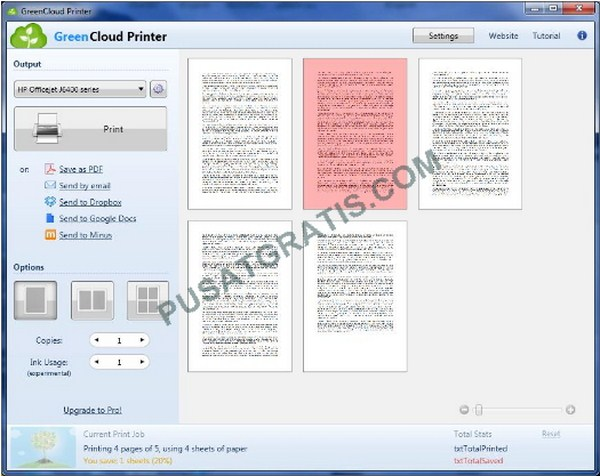 Dapatkan Lisensi Legal GreenCloud Printer untuk Menghemat Tinta Printer Hingga 60%!