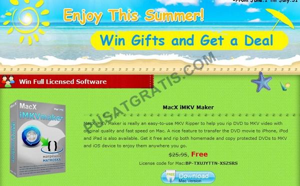 Dapatkan Lisensi MacX iMKVmaker untuk Rip DVD ke MKV dengan Mudah
