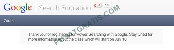 Google Membuka Kelas Gratis untuk Belajar Menjadi Pencari Informasi Hebat! Gabung yuuk!