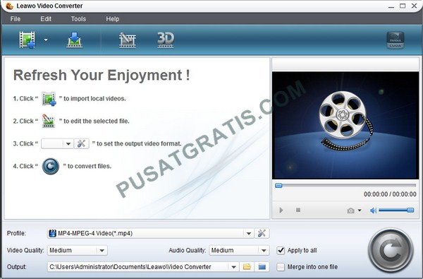 Dapatkan Lisensi Leawo Video Converter Pro Senilai $29.95