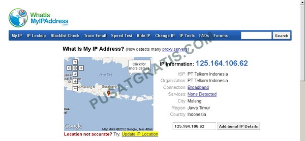 Cara Menemukan IP Address Publik dan IP Address Private