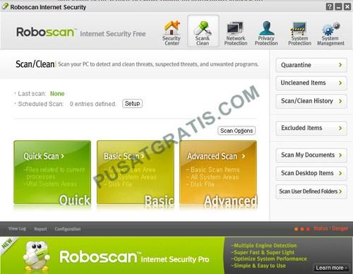 Roboscan: Software Penjaga Keamanan Koneksi Internet