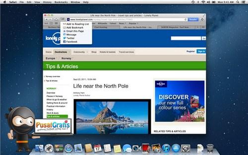 Safari 6 Sudah Bisa Didownload Gratis oleh Pengguna Mountain Lion