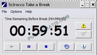 Scirocco: Aplikasi ini Bisa Memaksa Kamu untuk Beristirahat!