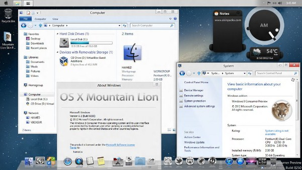 http://www.pusatgratis.com/wp-content/uploads/2012/07/skinpackwin8lion_3.jpg-ScreenShoot Mengubah Tampilan Windows 8 Menjadi Mac OS X Mountain Lion