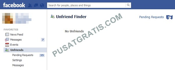 Unfriend Finder: Ngintip Teman yang Unfriend Kita di Facebook Yuk