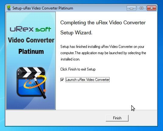 Dapatkan Lisensi Legal dari uRex Video Converter Platinum