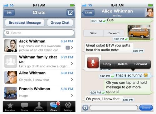 WhatsApp Messenger untuk iPhone Kini Sedang Digratiskan