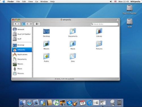 Mac OS X v10.3 (Panther)