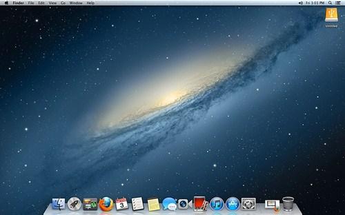 Mac OS X v10.8 (Mountain Lion)