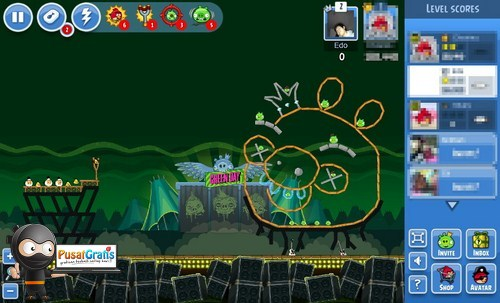 Sekarang Game Angry Bird di Facebook Ada Level Barunya
