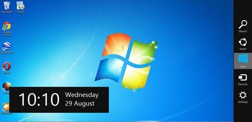 Dapatkan Windows 8 Charms Bar Untuk WIndows XP, Vista dan 7
