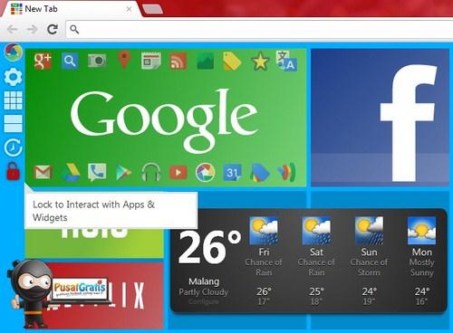 Awesome New Tab Page: Poles Tampilan Chrome Agar Tampak Keren Dan Berbeda
