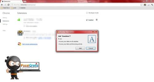 Cara Menginstall Extensi Chrome Tanpa Melalui Web Store