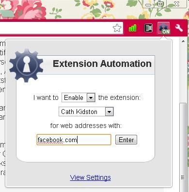 Extension Automation: Cara Mengatur Extension Chrome Pada Situs Web Tertentu Dengan Mudah