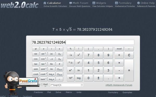 4 Kalkulator Scientific Online Yang Bisa Membantu Mengerjakan Soal Matematika
