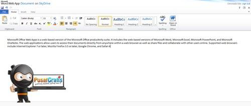 5 Aplikasi Gratis Alternatif Microsoft Office