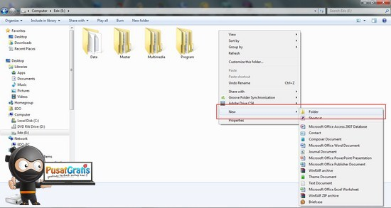 4 Cara Sederhana Membuat Folder di Windows