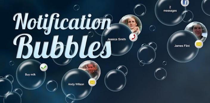 Notification Bubbles Free: Aplikasi Live Wallpaper Android yang Kaya Fitur