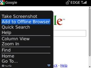 Offline Browser: Kini Membaca Web Di Blackberry Bisa Offline
