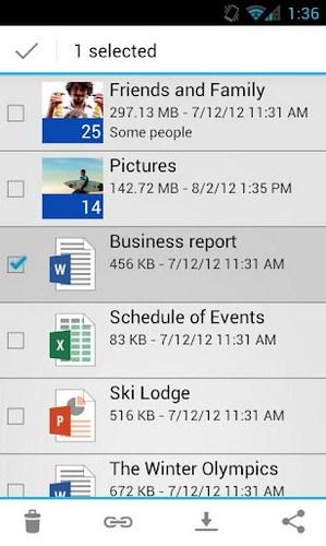 Aplikasi Microsoft SkyDrive Sekarang Sudah Bisa Didownload Untuk Android