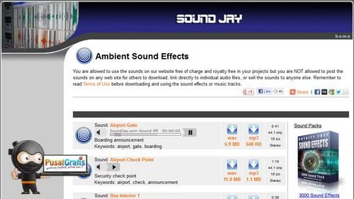 5 Cara Untuk Mendapatkan Audio Clips dan Sound Efek