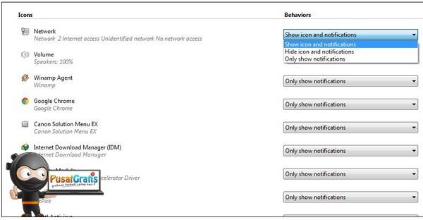 Tips dan Trik Mengatur System Tray Windows Agar Terlihat Rapi