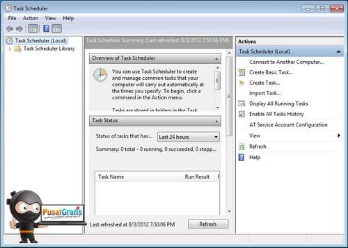 Cara Mengatur Jadwal Di Komputer Tanpa Menggunakan Software