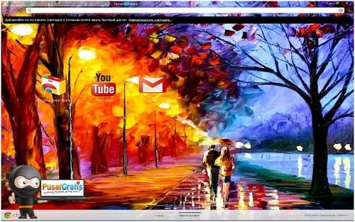 5 Theme Menawan Untuk Google Chrome