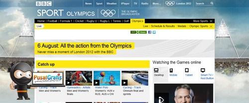 Cara Menonton Olimpiade 2012 di London Secara Gratis