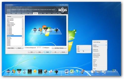 Percantik Tampilan Windows Dengan Dock Ala Mac OS Menggunakan Winstep Nexus