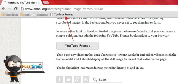 Mengubah Video YouTube Menjadi Urutan Gambar Dengan Sekejap