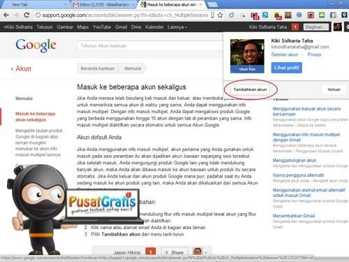 cara Membuat Akun Ganda di Gmail