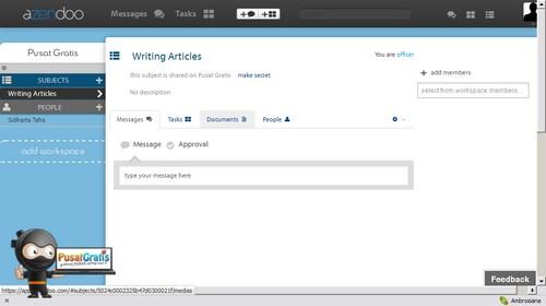 Azendoo: Satu lagi Web Aplikasi untuk Bekerja dengan Tim Jarak Jauh