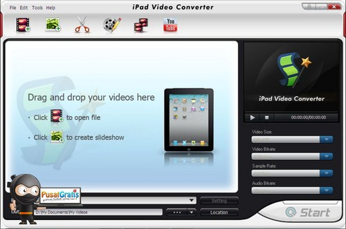Dapatkan Lisensi BlazeVideo iPad Video Converter