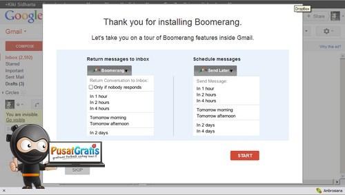 Wow..Gmail-pun Bisa Mengirim Email Sesuai dengan Jadwal yang Kamu Tentukan!