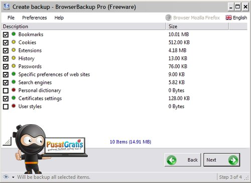 Backup Profile Browser Kamu dengan BrowserBackup Pro
