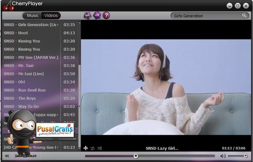 Cherry Player: Memainkan Video Streaming langsung dari Desktop!