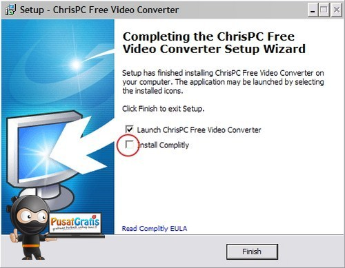 ChrisPC Video Conventer: Aplikasi alternatif untuk Convert Video