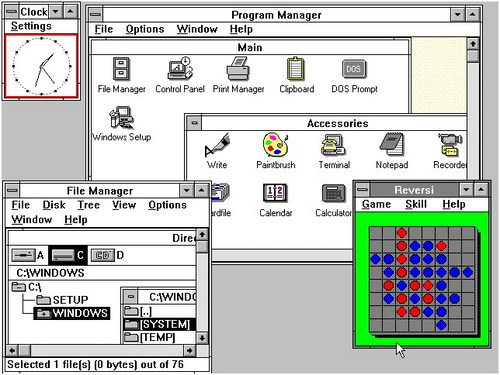 Windows 3.0 - www.jurukunci.net