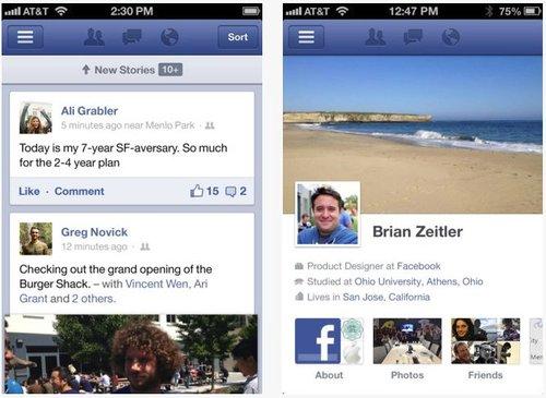 Aplikasi Facebook untuk iOS Kini Jauh Lebih Cepat