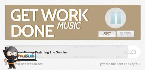 Lebih Fokus Bekerja dengan Mendengarkan Musik dari GetWorkDone
