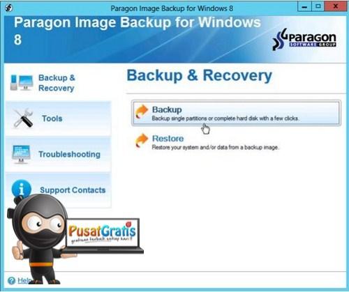 Dapatkan Lisensi Paragon Image Backup untuk Windows 8