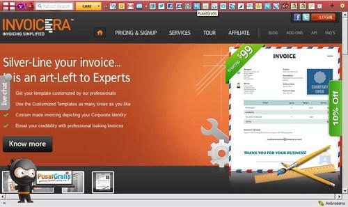 Membuat Invoice untuk Client Secara Otomatis dengan Invoicera