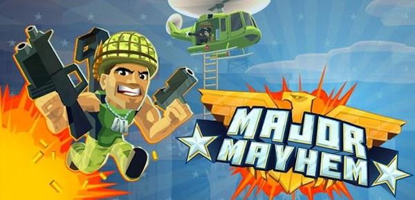 Major Mayhem: Game Tempur Seru yang Harus Dicoba Setiap Pengguna Android