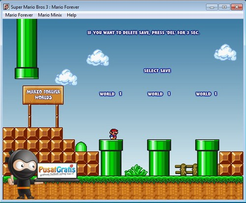 Masih Ingat Game Super Mario Bros? Download Versi PC nya Yuk!