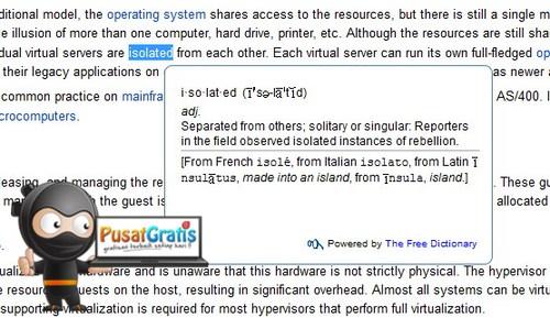 Melihat Arti Kata Sekaligus Belajar Bahasa Inggris di Firefox